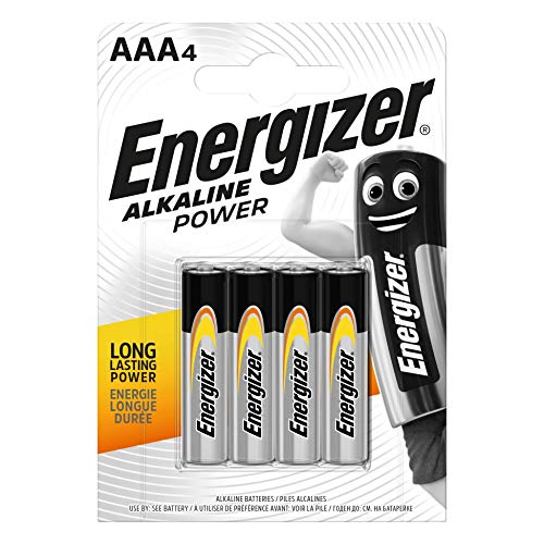Oferta de Energizer Alkaline Power -Pack de 4 pilas Alcalinas AAA/LR03