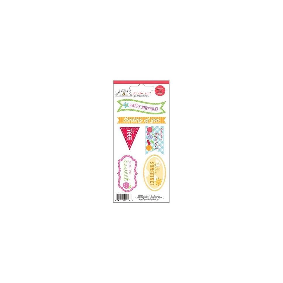 DOODLEBUG Fruit Stand Doodles Cardstock Stickers 3