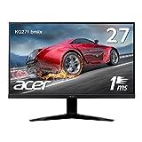 Acer ゲーミングモニター KG271bmiix 27インチ 応答速度1ms/Free Sync/フレームレス/スピーカー内蔵
