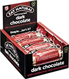 Eat Natural Barrita de Chocolate Negro, Arándanos y Macadamia - 12 Barras