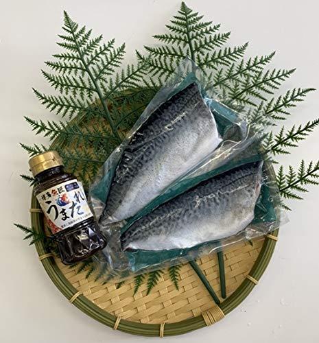 水産物応援 お歳暮 刺身用 冷凍 養殖生サバ 唐津Qサバ フィレ 2枚 1尾分 博多 魚匠 特製 うまたれ付き ゴマサバ 博多 グルメ お取り寄せ 海鮮丼 博多魚匠
