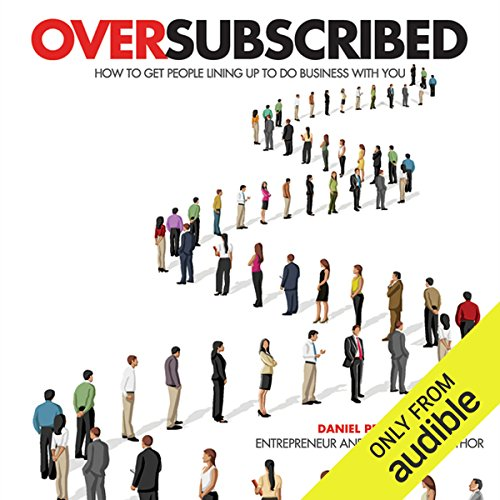 Oversubscribed audiobook cover art