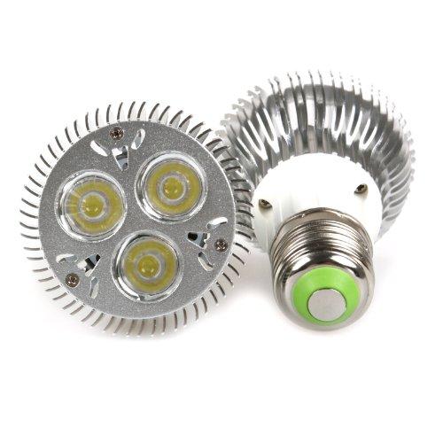 Lemonbest 9W Dimmable PAR20 LED Light Bulb Spotlight E27 Base Cool White 6000K (2 Pack)