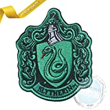 Toppa ricamata con stemma di Serpeverde PSL Hogwarts