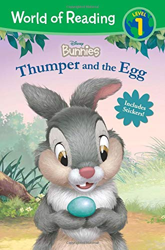 World of Reading: Disney Bunnies Thumper and the Egg (Level 1 Reader)