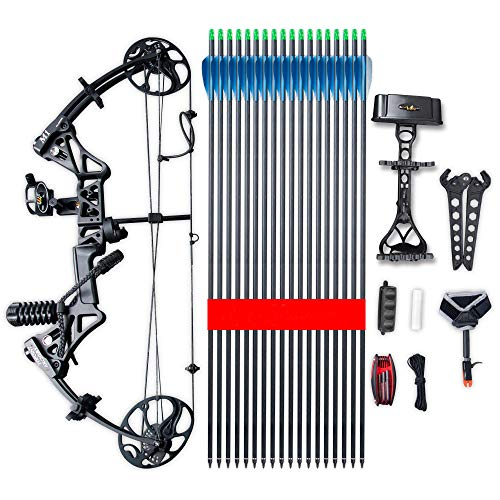 """no-branded Compound Bow Limbs Made in USA 19""""-30"""" Draw Length,19-70Lbs Draw Weight,320fps IBO Limbs , Ship from USA Warehouse(Arrives 3-5 Days"""