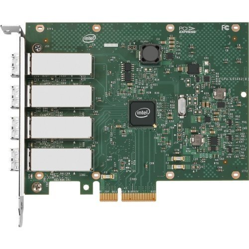 INTEL Adaptador Intel Ethernet para servidor I350-F4 – Adaptador de red – PCI Express 2.0 x4-1000Base-SX x 4 / I350F4BLK /
