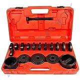 24 tlg. Radlager Abzieher Werkzeug I Radlagerwerkzeug I Radnabe Montage Radlagerabzieher I geeignet für alle gängingen Automarken