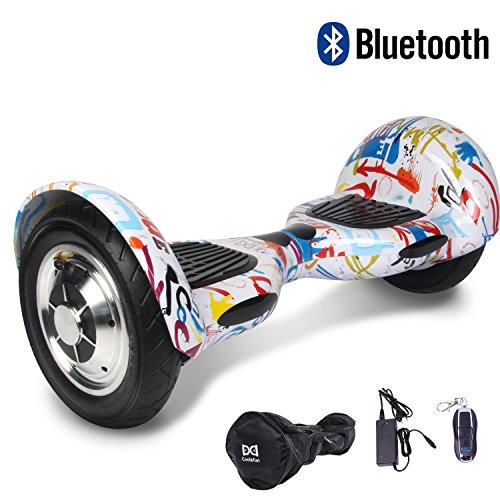 Cool&Fun 10' Smart Monopattino Elettrico Scooter con Due Ruote 10', con...
