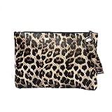 Bolsos Mujer Bolsos De Leopardo De La Vendimia Bolsos De Embrague De Las Mujeres Monedero Bolso De Asa Femenina Bolsos De Hombro del Mensajero del Leopardo Amarillo