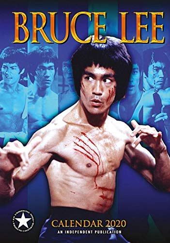 Bruce Lee Calendar - Calendars 2019 - 2020 Wall Calendars - Movie Wall Calendar - Sexy Men Calendar - Poster Calendar - 12 Month Calendar by Dream (Multilingual Edition)