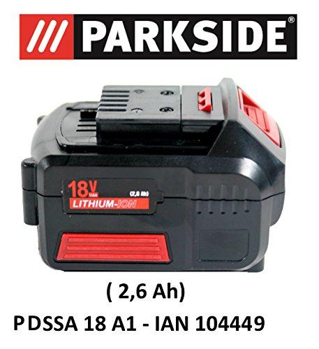 Parkside accu 18V 2,6 Ah PAP 18-2.6 A1 voor PDSSA 18 A1 - IAN 104449 accudraaislachschroevendraaier