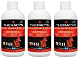 Manna Pro Theracyn Wound & Skin Care Poultry Liquid, 8 oz (Three Pack)