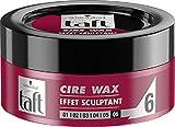 Taft - Cire Wax - Cire Cheveux - Effet Sculptant - 75 ml