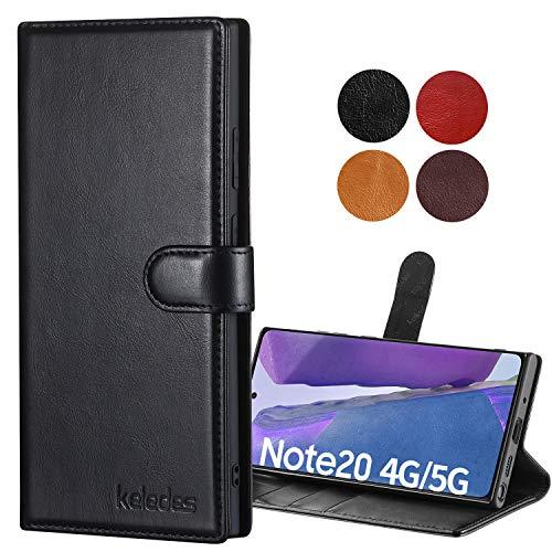 keledes Galaxy Note 20 Case,Cowhide…