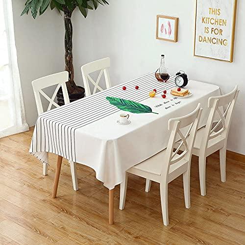 marca blanca Mantel rectangular elástico 140 x 200 cm
