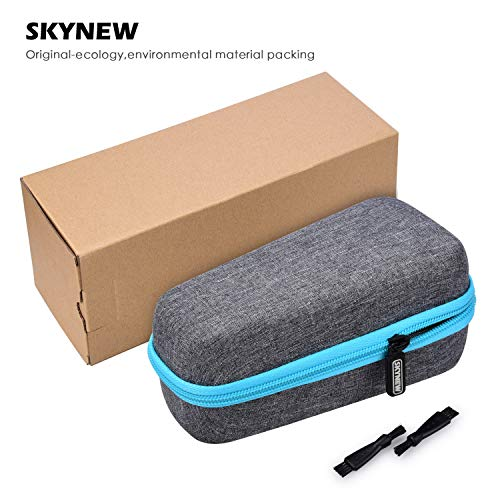 Electric Shaver Razor Case Compatible with Philips Norelco 3100/6400/2100/4500/6100/1100/3500/3600/4100/AT970/SW3700 Men by SKYNEW,Black