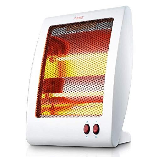Jiamuxiangsi Mini-verwarming, 800 W, slaapkamer naar huis, energiebesparend, twee snelheden, draagbare handgreep, geringe afmetingen, gemakkelijk te verplaatsen. ventilatorkachel