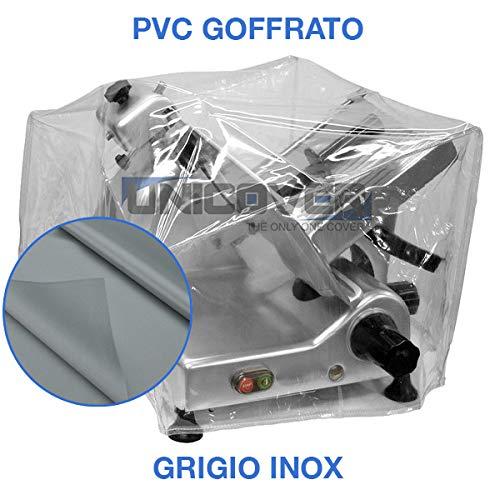 Copri affettatrice professionale (Grigio, L54 x P39 x H48 cm)