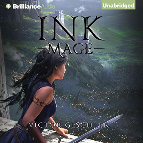 Ink Mage audiobook cover art
