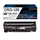 1 Pack Black 126 Compatible Toner Cartridge Replacement for Canon ImageClass...