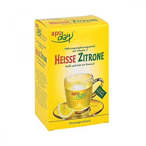 apoday Heiße Zitrone Portionsbeutel, 10 St. Beutel