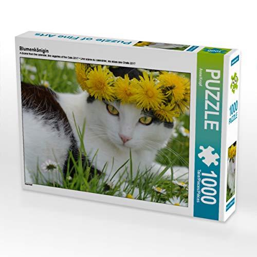 CALVENDO Puzzle Blumenkönigin 1000 Teile Lege-Größe 64 x 48 cm Foto-Puzzle Bild von Anna Kropf