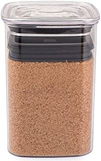 Airscape Lite Plastic Food Storage Canister, 64 oz - Patented Airtight Lid Preserves Food Freshness