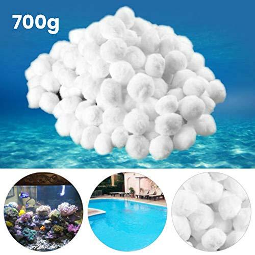 BESTEU Aquarium-Pool-Filterkugeln Umweltfreundliche Swimmingpool-Sandfilter-Ersatznitrifizierender Hairball
