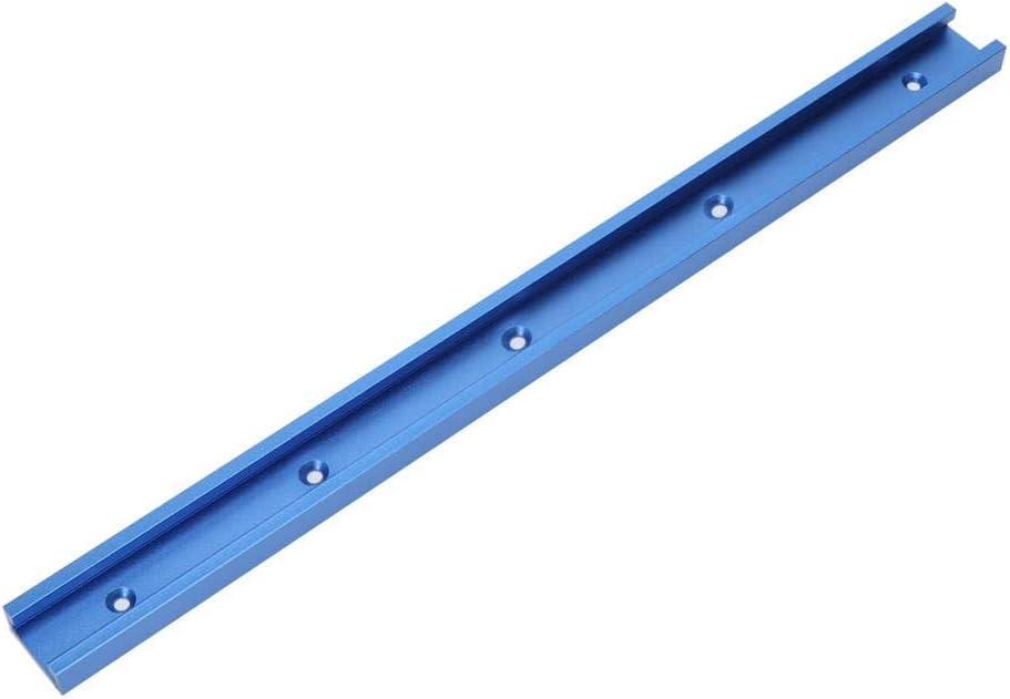 Pince /à Serrage Rapide Outil de gabarit /à Onglet T-Track Aluminium Outils de gabarit de Voie /à Onglet T-Slot en Aluminium pour d/éfonceuse /à Bois 800//1000 // 1220mm 1000mm Convient pour la vis T