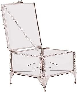 Best brass glass jewelry box Reviews