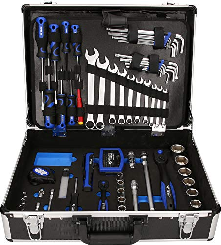 BRILLIANT TOOLS BT024143 Universalkoffer-Satz, 143-tlg [Powered by KS TOOLS]