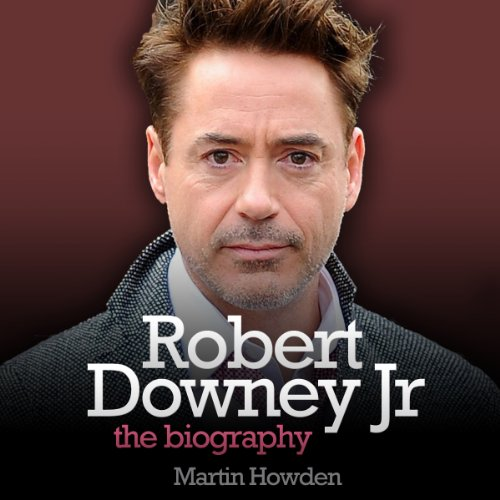 Robert Downey, Jr. audiobook cover art