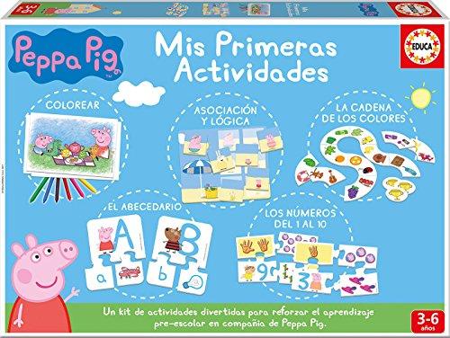 Educa Borrás-Peppa Pig Mis Primeras Actividades (17249.0)
