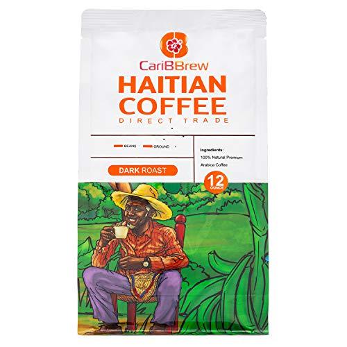 Single origin Haitian Coffee - premium Arabica - Dark Roast Beans
