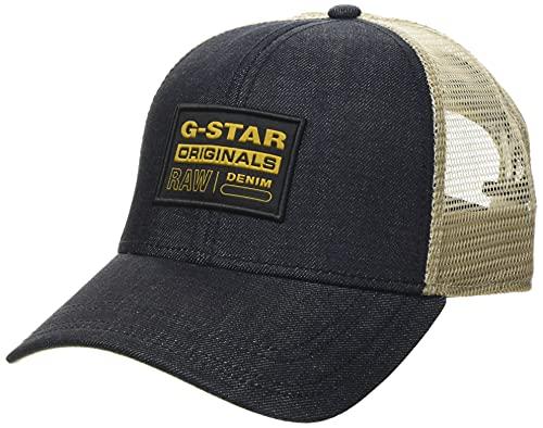 G-STAR RAW Trucker Gorra de béisbol, Raw Denim B988-001, Talla única para Hombre