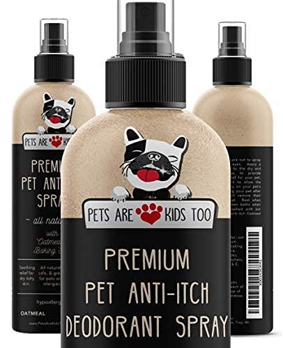 Premium Pet Anti Itch Spray & Scent Freshener! Natural...