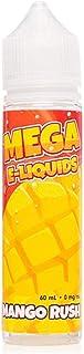 MEGA ELiquids Verdict Vapors 電子タバコリキッド Mango Rush ニコチンフリー 60ml