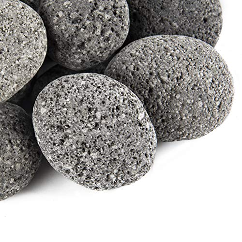 Stanbroil Tumbled Lava Rock Pebbles for Indoor or...