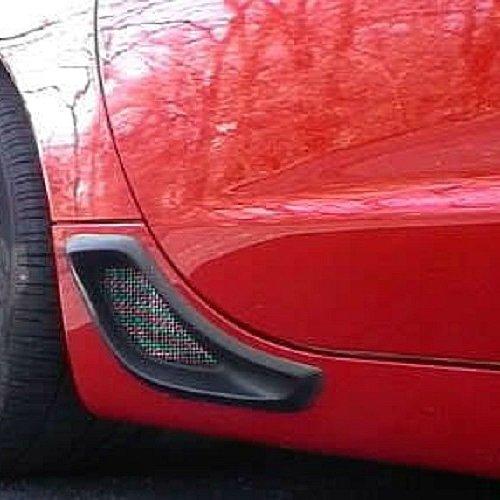 C5 Corvette ZO6 Rear Brake Cove Vent Kit (Non Functional) Fits: 97 through 04 Corvettes non Z06
