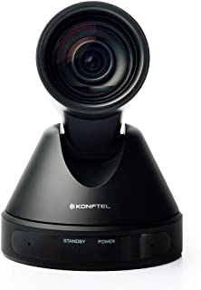 KONFTEL CAM50-1080p/60fps 12x PTZ USB Video Conferencing Camera for Large Rooms up to 20 People