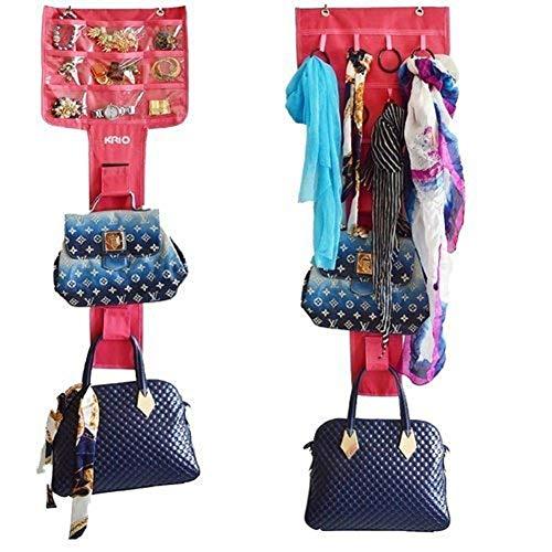 Ducomi® Multi-Purpose Organizer Ruimtebesparende Hangkast - Hangende opbergkast voor het bestellen van tassen, sieraden en accessoires - display Super Tough and Satisfaction Guarantee