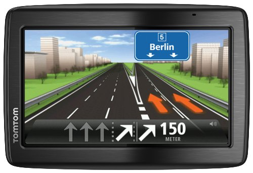 TomTom Via 135 Europe Traffic Navigationssystem,13 cm (5 Zoll) Touchscreen, Speak und GO, Freisprechen, Bluetooth, IQ Routes, TMC, Europa 45