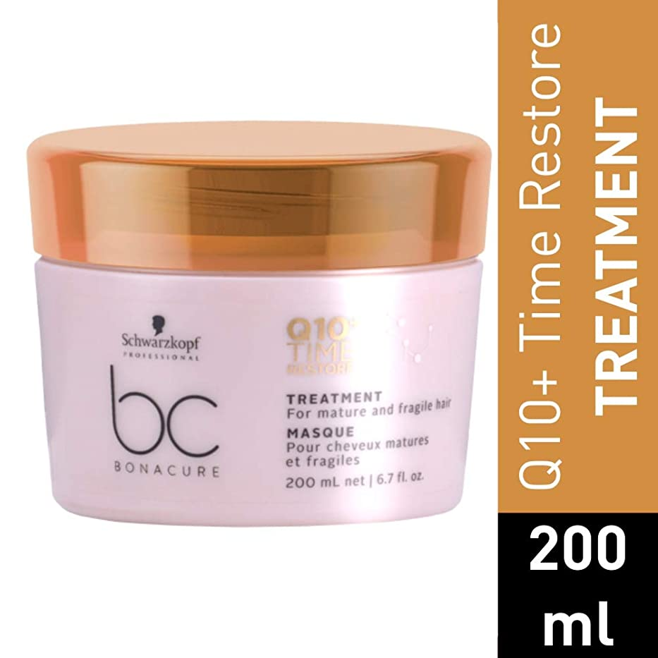 遺体安置所隔離玉シュワルツコフ BC Bonacure Q10+ Time Restore Treatment (For Mature and Fragile Hair) 200ml/6.7oz並行輸入品