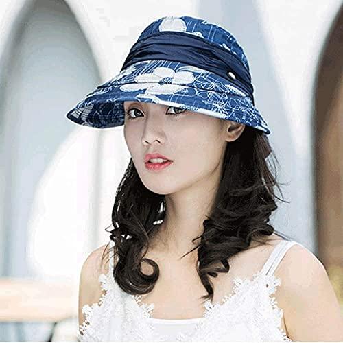 Diseño de Novedad Sombrero de Cu Plegable Pescador Sombreros Al Aire Libre Sombrero de Secado Rápido Sombrero de Verano para Hombres Y Mujeres jardinería/B