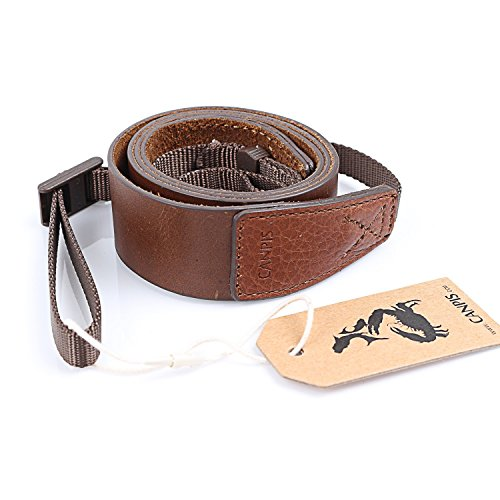 CANPIS Cinturino Handmade per la spalla della spalla della macchina fotografica di cuoio genuino per il fotocamera Canon Nikon Canon Pentax Leica Olympus Fuji