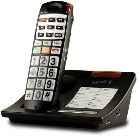 Loud 40dB Big Cordless High material Columbus Mall Button Phone