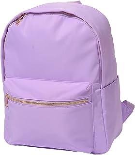 Kaymey Lightweight Backpack for School,School Bookbag Daypack Multipurpose Bright Light Color Fashion Nylon Soft Backpack