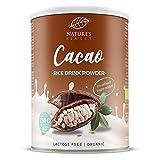 Bebida de arroz con cacao en polvo Bio 250g. 250g | Hace 2,5 l de deliciosa leche vegetal orgánica | Vegetariana y vegana.