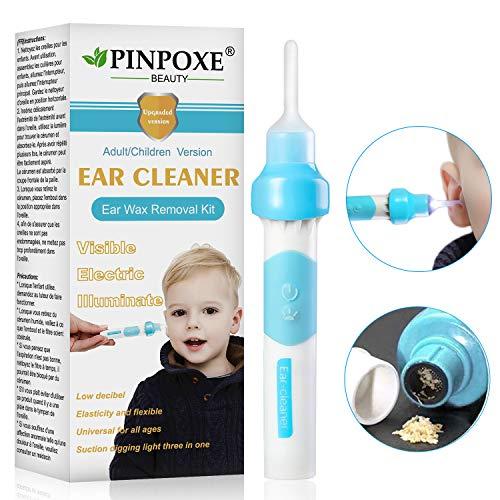 Ohrenreiniger, Ear Wax Cleaner, Ohrwachsentferner,Ohrwachs EntfernungsToolFürKinderundErwachsene,Kleinkinder,Babies,Jugendliche Erwachsene